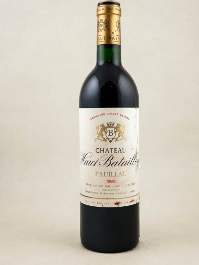 Haut Batailley - Pauillac 1985 PHOTO