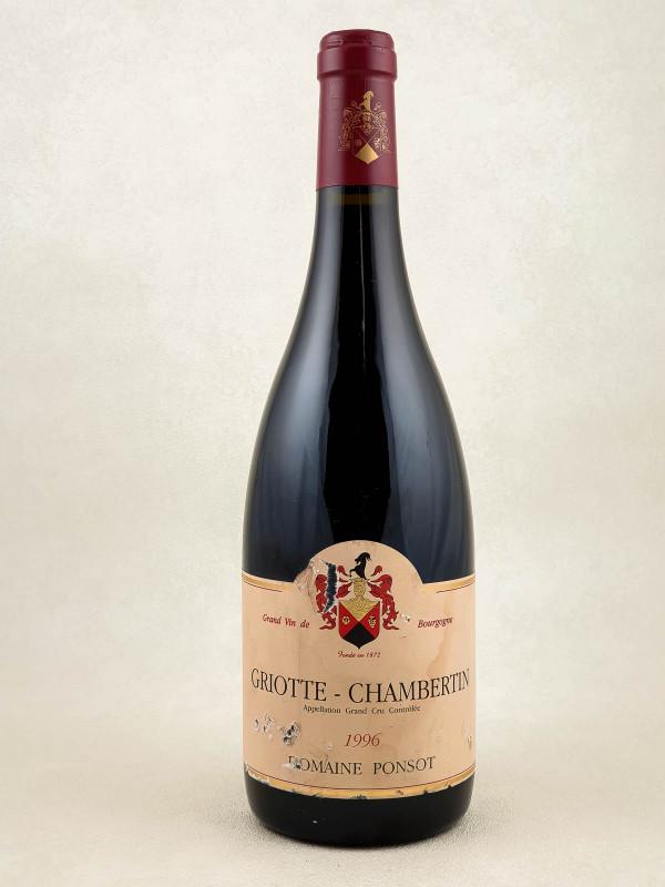 Ponsot - Griotte Chambertin 1996