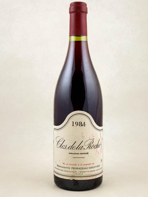 Peirazeau Groffier - Clos de la Roche 1984