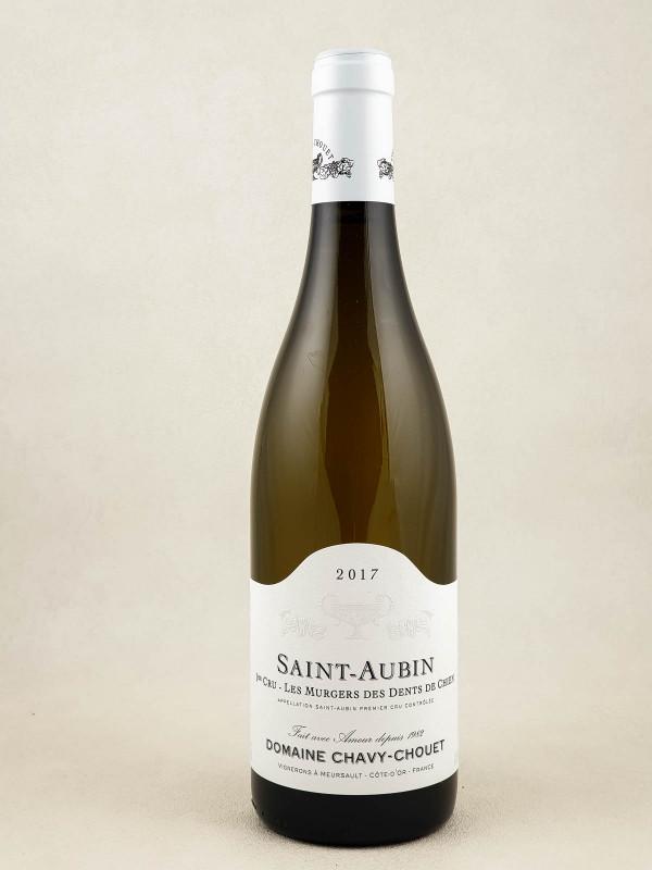 """Chavy Chouet - Saint Aubin 1er cru """"Murgers des Dents de Chien"""" 2017"""