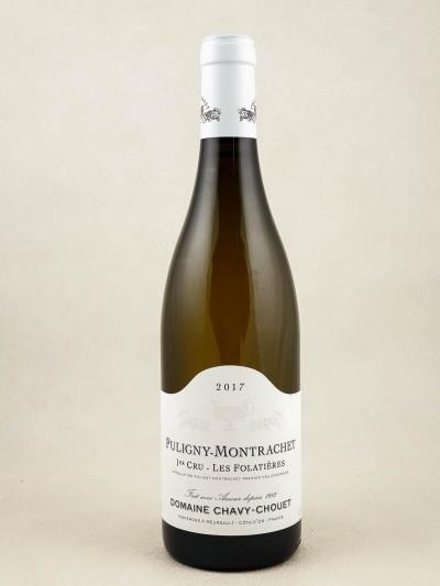 "Chavy Chouet - Puligny Montrachet 1er cru ""Folatières"" 2017"