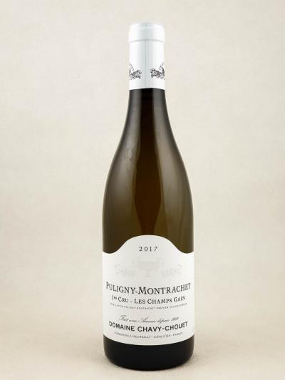 "Chavy Chouet - Puligny Montrachet 1er cru ""Champ Gain"" 2017"