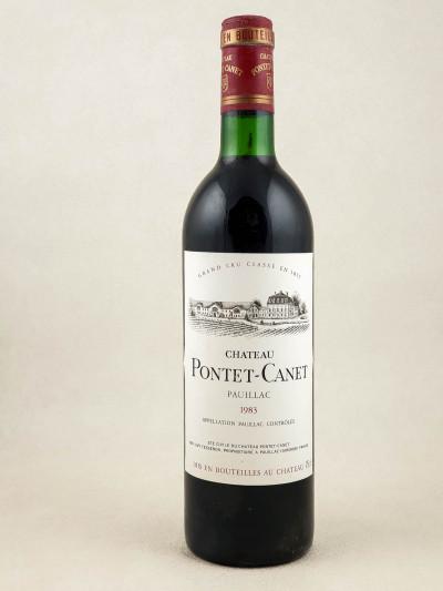 Pontet Canet - Pauillac 1983