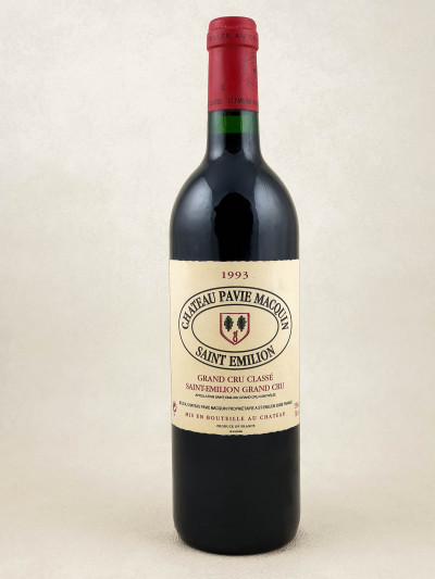 Pavie Macquin - Saint Emilion 1993