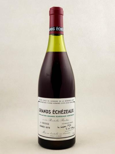 Romanée Conti - Grands Echezeaux 1978