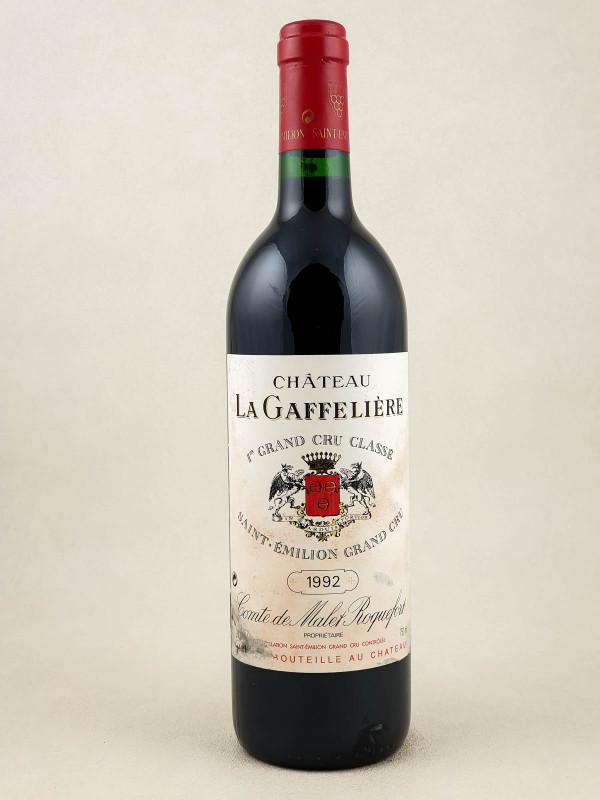 La Gaffelière - Saint Emilion 1992