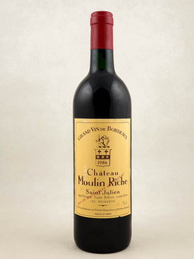 Moulin Riche - Saint Julien 1986
