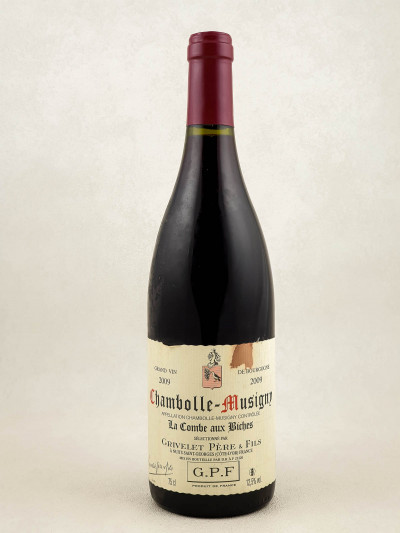 "Grivelet Père & Fils - Chambolle Musigny ""Combe aux Biches"" 2009"