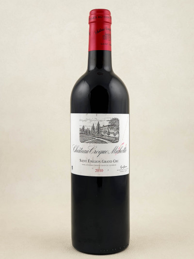 Croque Michotte - Saint Emilion 2010