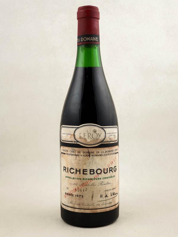 Romanée Conti - Richebourg 1972