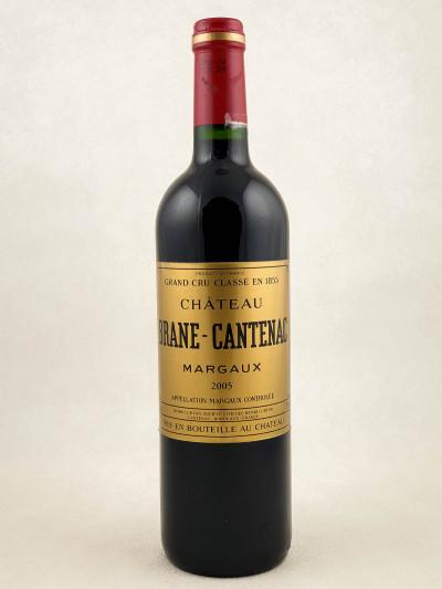 Brane Cantenac - Margaux 2005