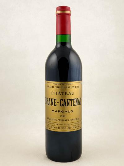 Brane Cantenac - Margaux 1989