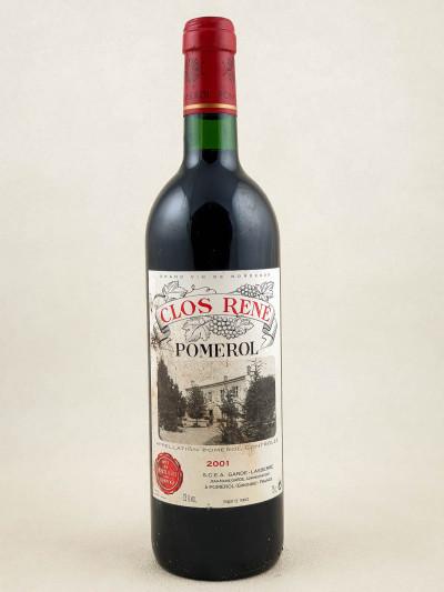 Clos René - Pomerol 2001