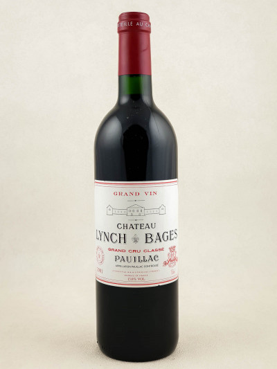 Lynch Bages - Pauillac 2001