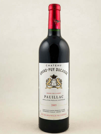 Grand Puy Ducasse - Pauillac 2005