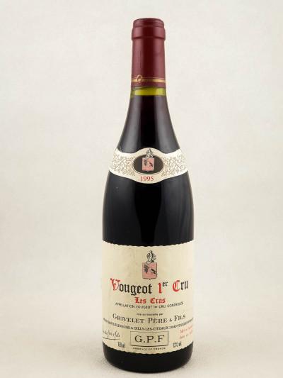 """Grivelet Père & Fils - Vougeot 1er cru """"Les Cras"""" 1995"""