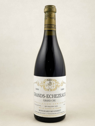 Mongeard Mugneret - Grands Echezeaux 1989