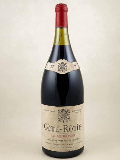 """Rostaing - Côte Rôtie """"La Landonne"""" 1988 MAGNUM"""