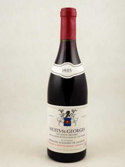 """Machard de Gramont - Nuits Saint Georges """"Les Hauts Pruliers"""" 1989"""