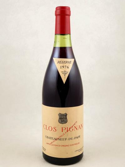 Pignan - Châteauneuf du Pape 1976