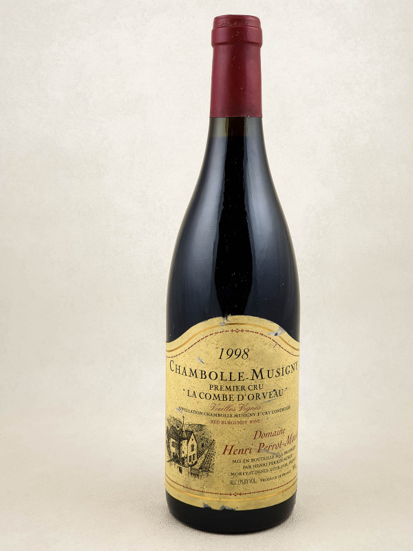 """Perrot Minot - Chambolle Musigny 1er cru """"La Combe d'Orveau"""" 1999"""