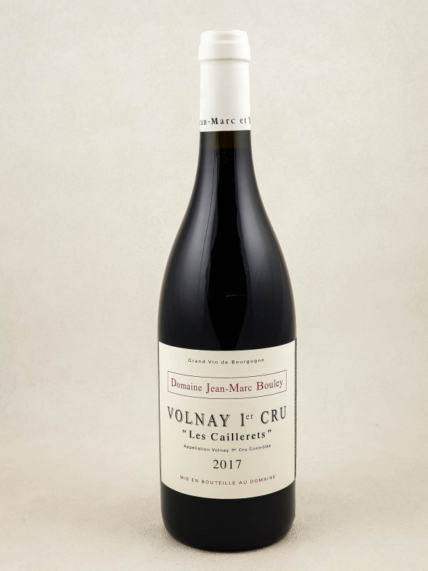 "Jean Marc Bouley - Volnay 1er cru ""Caillerets"" 2017"