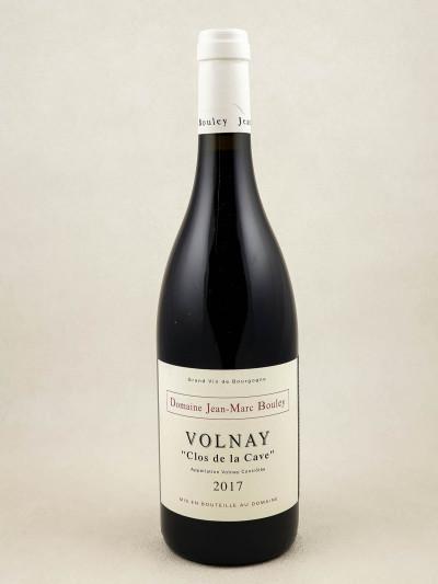 """Jean Marc Bouley - Volnay """"Clos de la Cave"""" 2017"""