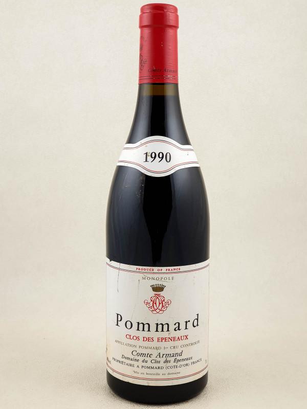 """Comte Armand - Pommard 1er cru """"Clos des Epeneaux"""" 1990"""