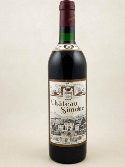 Château Simone - Palette Famille Rougier 1986