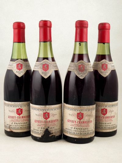 "Faiveley - Gevrey Chambertin ""Combe aux Moines"" x4"