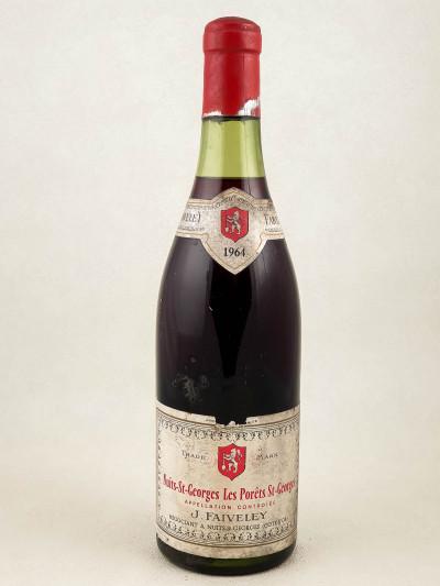 """Faiveley - Nuits St Georges """"Les Porêts St Georges"""" 1964"""
