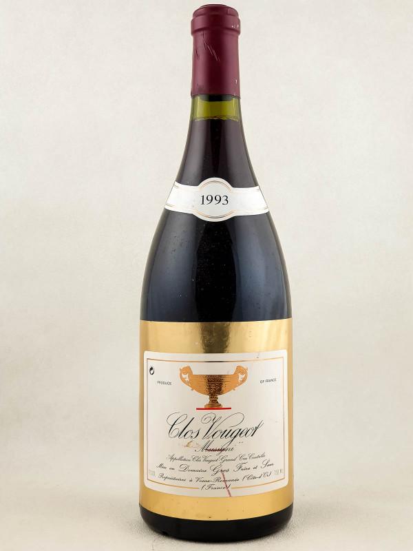 """Gros Frère & Soeur - Clos Vougeot """"Musigni"""" 1993"""