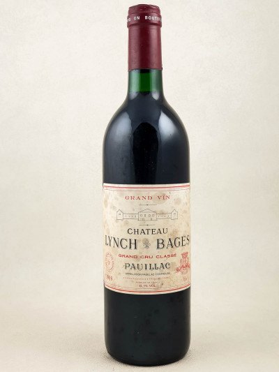 Lynch Bages - Pauillac 1989