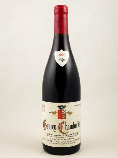 "Armand Rousseau - Gevrey Chambertin 1er cru ""Lavaux Saint Jacques"" 2006"