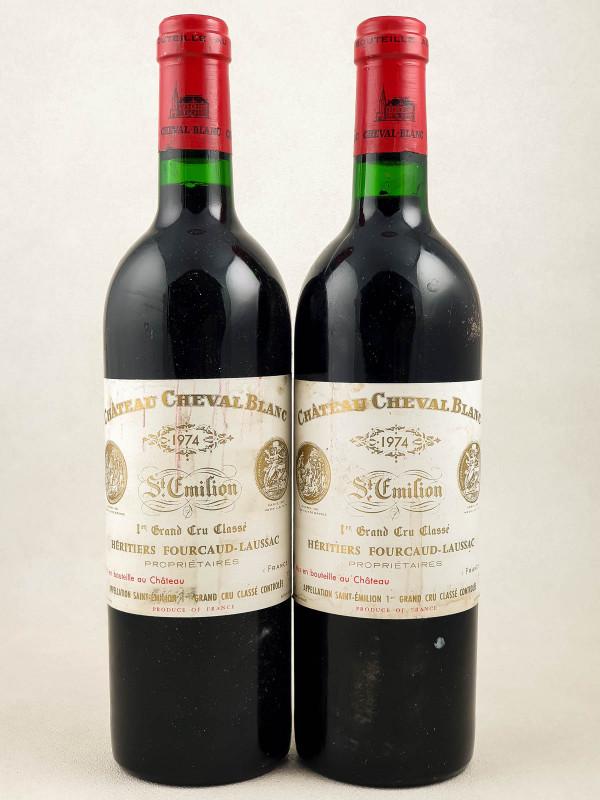Cheval Blanc - Saint Emilion 1974 x2