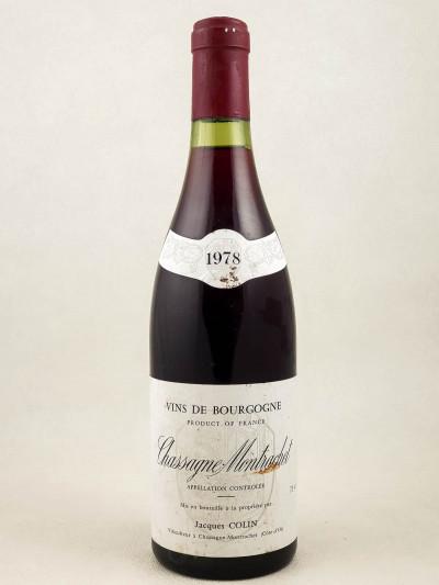 Jacques Colin - Chassagne Montrachet 1978