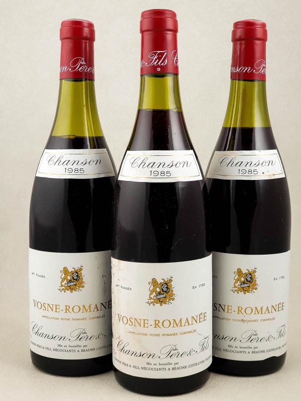 Chanson - Vosne Romanée 1985 x3