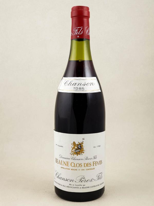 """Chanson - Beaune 1er cru """"Clos des Fèves"""" 1985"""