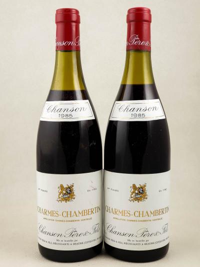 Chanson - Charmes Chambertin 1985 x2