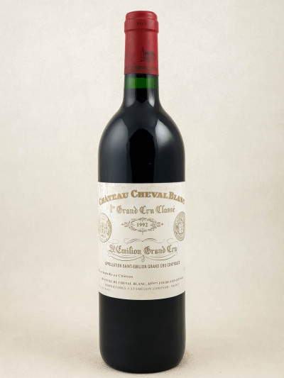 Cheval Blanc - Saint Emilion 1992