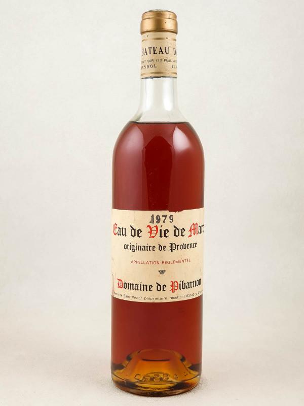 Domaine de Pibarnon - Eau de Vie de Marc de Provence 1979
