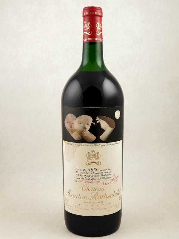 Mouton Rothschild - Pauillac 1986 Magnum