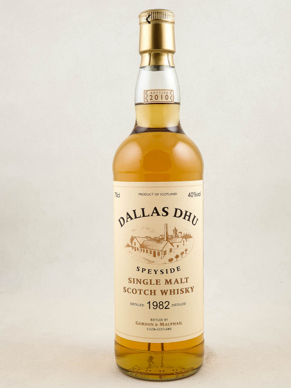 Dallas Dhu - Whisky Speyside Single Malt 1982