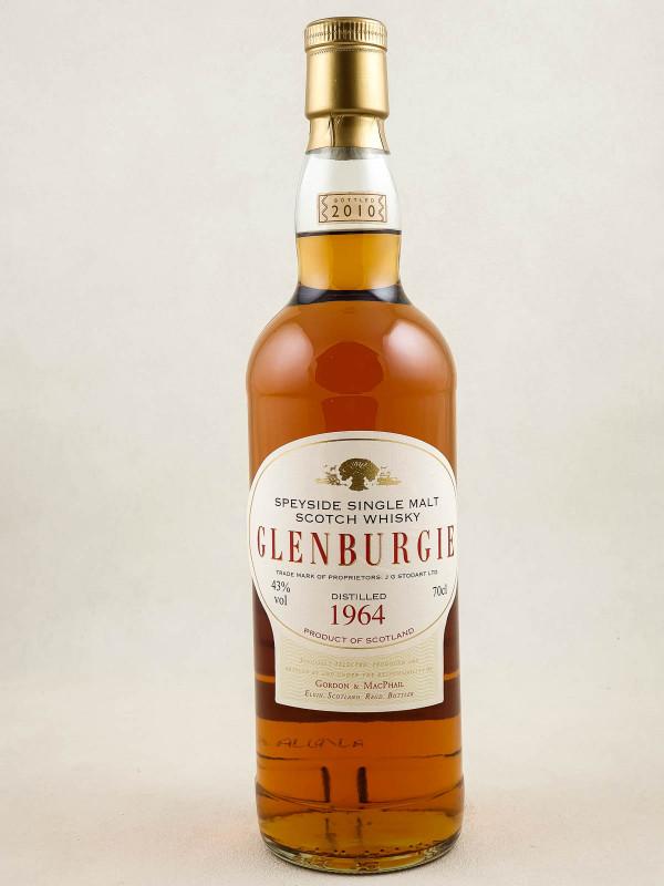 Glenburgie - Whisky Speyside Single Malt 1964