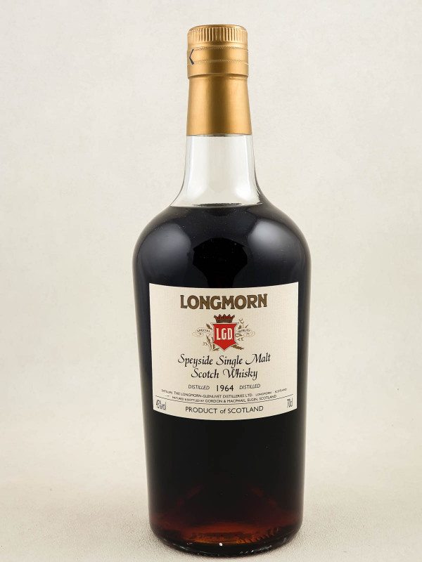 Longmorn - Whisky Speyside Single Malt 46 years 1964