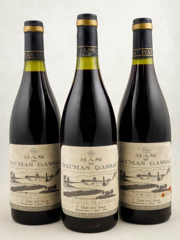 Mas de Daumas Gassac - Vin de Pays de l'Hérault 1986 x3