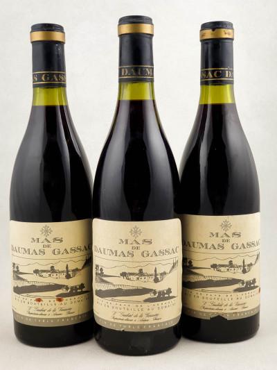 Mas de Daumas Gassac - Vin de Pays de l'Hérault 1985 x3