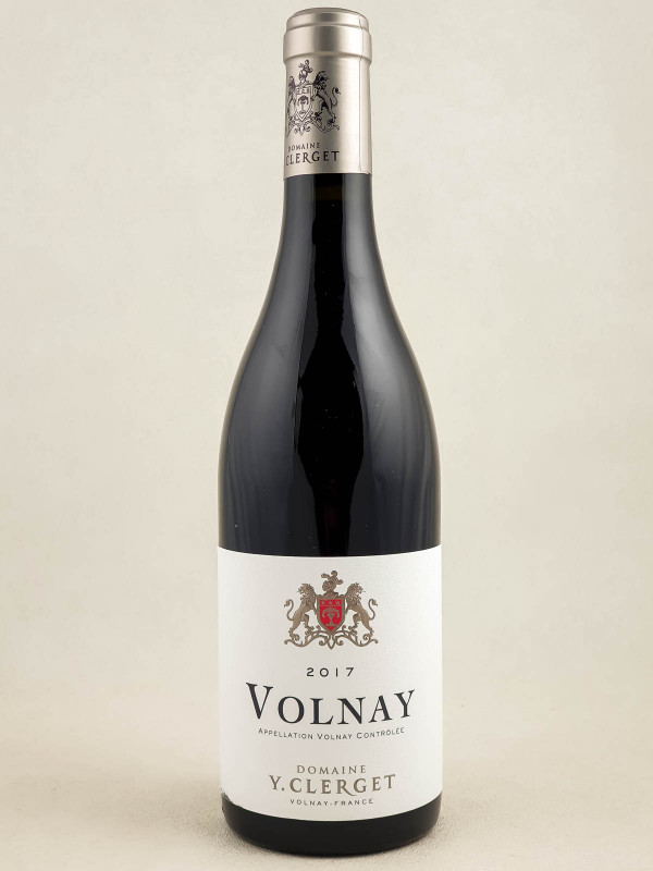 Yvon Clerget - Volnay 2017