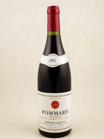 """Lejeune - Pommard 1er cru """"Rugiens"""" 2002"""