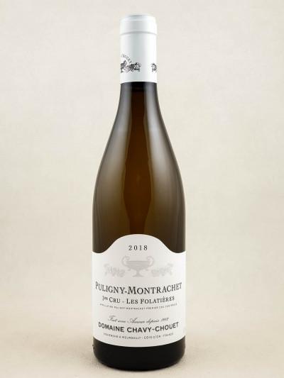 "Chavy Chouet - Puligny Montrachet 1er cru ""Folatières"" 2018"